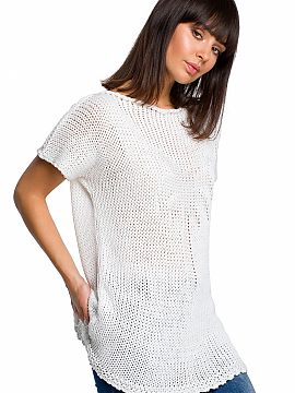 Pulli Ärmel kurz   BE Knit